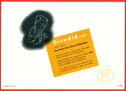 "Buvard DICODID ""Knoll"" (BASF) - Droguerías"
