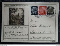 DR 1937, Bildpostkarte MiF LEIPZIG Gelaufen Schweden - Covers & Documents