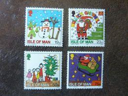 1996  Christmas   SG =  726 / 729   ** MNH - Man (Insel)