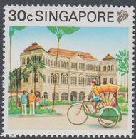Singapore 1990 - Definitive Stamp: Tricycle, Raffles Hotel - Mi 602 ** MNH [1088] - Wielrennen