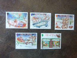 1998  Christmas   SG =  819/ 823   ** MNH - Man (Insel)