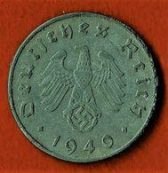 ALLEMAGNE / 10 REICHSPFENNIG / 1940 D - [ 4] 1933-1945 : Tercer Reich
