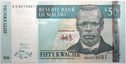 Malawi - 50 Kwacha - 2006 - PICK 53b - NEUF - Malawi