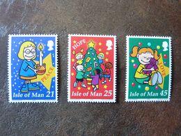 2000  Christmas   SG =  912/ 913 And 915   ** MNH - Man (Insel)