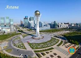 Kazakhstan Astana Bayterek Monument Postcard Kasachstan AK - Kazakhstan