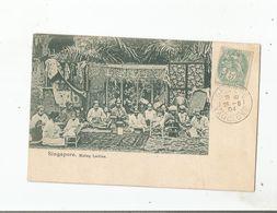 SINGAPORE MALAY LADIES 1904 - Singapore