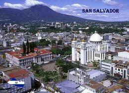 El Salvador San Salvador Cathedral Aerial View New Postcard - Salvador