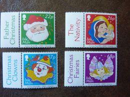 2002  Christmas   SG =  1041 / 1043 And 1045   ** MNH - Man (Insel)