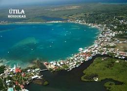 Honduras Utila Aerial View New Postcard - Honduras