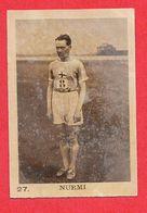 Carte Serie A N° 27 Paavo Johannes NURMI Course Fond Et Demi Et Cross Les Vedettes Sportives Chocolat KEMMEL N° 3 ARISTA - Athlétisme
