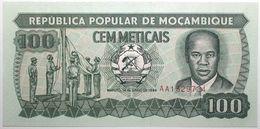 Mozambique - 100 Meticais - 1989 - PICK 130c - NEUF - Mozambique