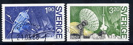 SWEDEN 1984 VIKING Satellite Project, Used.  Michel 1305-06 - Usados