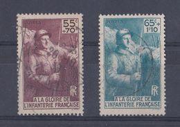 France Y&T  N °  386 Et 387  Valeur  10.70 Euros Oblitéré - Frankreich