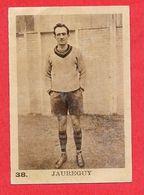 Carte Serie A N° 38 Adolphe JAUREGUY Joueur De Rugby Les Vedettes Sportives Chocolat KEMMEL N° 3 ARISTA - Trading-Karten