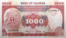 Ouganda - 1000 Shillings - 1986 - PICK 26 - NEUF - Uganda