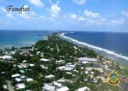 Tuvalu Funafuti Fongafale Aerial View New Postcard - Tuvalu