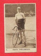 Carte Serie A N° 2 Henri PELISSIER Cycliste Velo Les Vedettes Sportives Chocolat KEMMEL N° 3 ARISTA - Trading-Karten