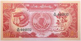 Soudan - 50 Piastres - 1987 - PICK 38 - NEUF - Sudan