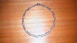 -35 %: En Juillet. Bracelet Chaîne Argent Fin 925/1000 Pour : Femmes Aux Poignées Fin Et Délicats.  Maille Alternée - Bracelets