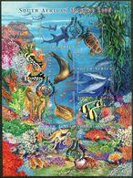 Südafrika South Africa Mi# 1419-28 Gestempelt(FDC/SST)/used/CTO - Fauna Marine Life, Fish - South Africa (1961-...)