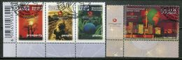 Südafrika South Africa Mi# 1440-3 Gestempelt(FDC/SST)/used/CTO - World Development Summit - South Africa (1961-...)