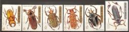BURUNDI  Beetles Set 6 Stamps  MNH - Insectes