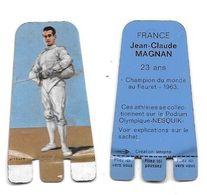 AR45 - PLAQUETTE NESQUIK - JEAN CLAUDE MAGNAN - Fencing