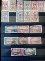 MARTINIQUE.1908 à 1918. Série Complète N°61 à 77 . 14 Neufs + 4 Oblitérés. Côte Yvert 38,45 € - Neufs
