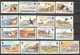 MAN  Birds Set 16 Stamps  MNH - Oiseaux