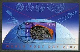 Südafrika South Africa Mi# Block 89 Gestempelt(FDC/SST)/used/CTO - Rosetta Stone - South Africa (1961-...)