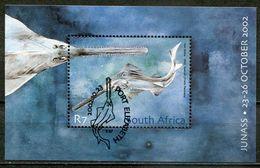 Südafrika South Africa Mi# Block 91 Gestempelt(FDC/SST)/used/CTO - Fauna Fish - South Africa (1961-...)
