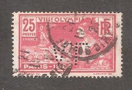 Perforé/perfin/lochung France No 184  A.L Aciéries De Longwy Puis Soloval - France
