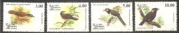 SRI LANKA  Birds  Set 4 Stamps  MNH - Oiseaux