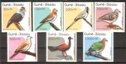 GUINEA-BISSAU  Birds  Set 7 Stamps  MNH - Oiseaux