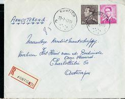Doc. De KONTICH - C C - Du 22/07/68 En Rec. (E) - Postmark Collection