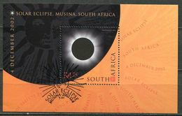 Südafrika South Africa Mi# Block 93 Gestempelt(FDC/SST)/used/CTO - Solar Eclipse - South Africa (1961-...)