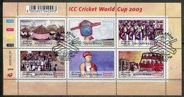 Südafrika South Africa Mi# 1482-7 Gestempelt(FDC/SST)/used/CTO - Cricket - South Africa (1961-...)