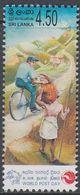Sri Lanka 2004 - World Post Day: Postman On Bicycle - Mi 1478 ** MNH [1103] - Wielrennen