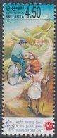 Sri Lanka 2004 - World Post Day: Postman On Bicycle - Mi 1478 ** MNH [1104] - Wielrennen