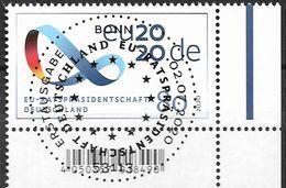 2020  Deutschland Allem. Fed.Mi. 3554 FD-used Bonn  EUR Vorsitz Deutschlands Im Rat Der Europäischen Union. - [7] République Fédérale