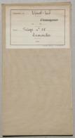 Carte Forêts Communales Triage N°85 Lamarche, (Vosges) - Carte Topografiche