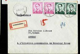 Doc. De KOEKELBERG - E 1 E - Du 25/06/64 En Rec.  (E) - Postmark Collection