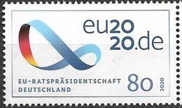2020 Allem. Fed. Deutschland Germany Mi. 3554**MNH   Vorsitz Deutschlands Im Rat Der Europäischen Union. - Europese Gedachte