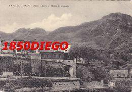 CAVA DEI TIRRENI - BADIA - TORRE E MONTE S. ANGELO  F/GRANDE VIAGGIATA 1954 - Cava De' Tirreni