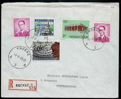 Doc. De KNOKKE  - A 3 A - Du 02/07/69 En Rec.  (E) - Postmark Collection