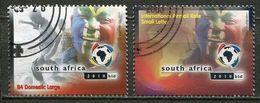 Südafrika South Africa Mi# 1513-4 Gestempelt(FDC/SST)/used/CTO - FIFA World Cup Bid 2010 - South Africa (1961-...)
