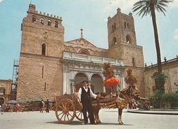 MONREALE-PALERMO-CARTOLINA VERA FOTOGRAFIA-NON VIAGGIATA - Palermo