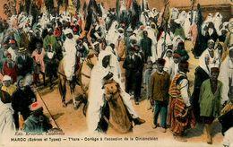 Judaica * Maroc * T'hara * Cortège , Occasion De La Circoncision * Judaisme Jew Jewish Jud Juden Juifs Juives Juive Juif - Giudaismo