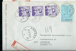 Doc. De KNOKKE  - F 1 F - Du 19/11/70 En Rec.  (E) - Marcophilie