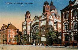 Ujvidek * Novi Sad Serbie * Israélite Temple * Judaica Synagoge Juif Juifs Synagogue Juive Jew Jewish Jud Juden - Giudaismo